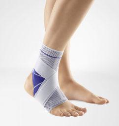 MalleoTrain S Open Heel titan fotledsskydd fotledsstöd